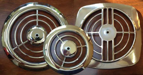 kitchen wall fan knobs for cabinets 50s style nutone ceiling solves your exhaust issues retro vintage grille