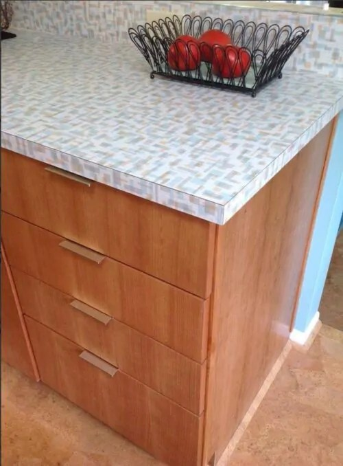formica kitchen cabinets recessed lighting for countertops archives - retro renovation