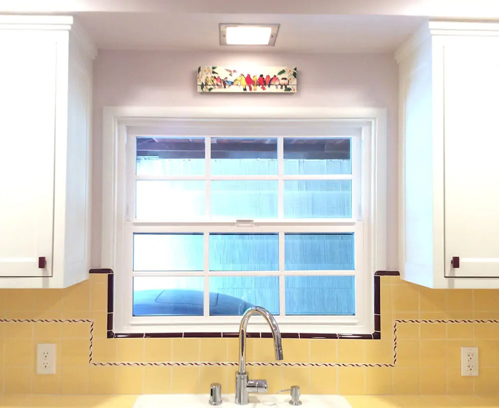 retro kitchen tile backsplash home and stores carolyn's gorgeous 1940s remodel featuring yellow ...