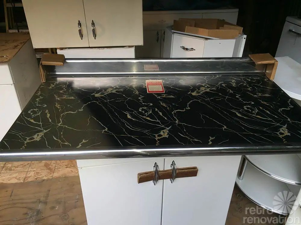 old kitchen sink with drainboard sherwin williams cabinet paint boxed up for 67 years and now set free: brand new 1948 ...