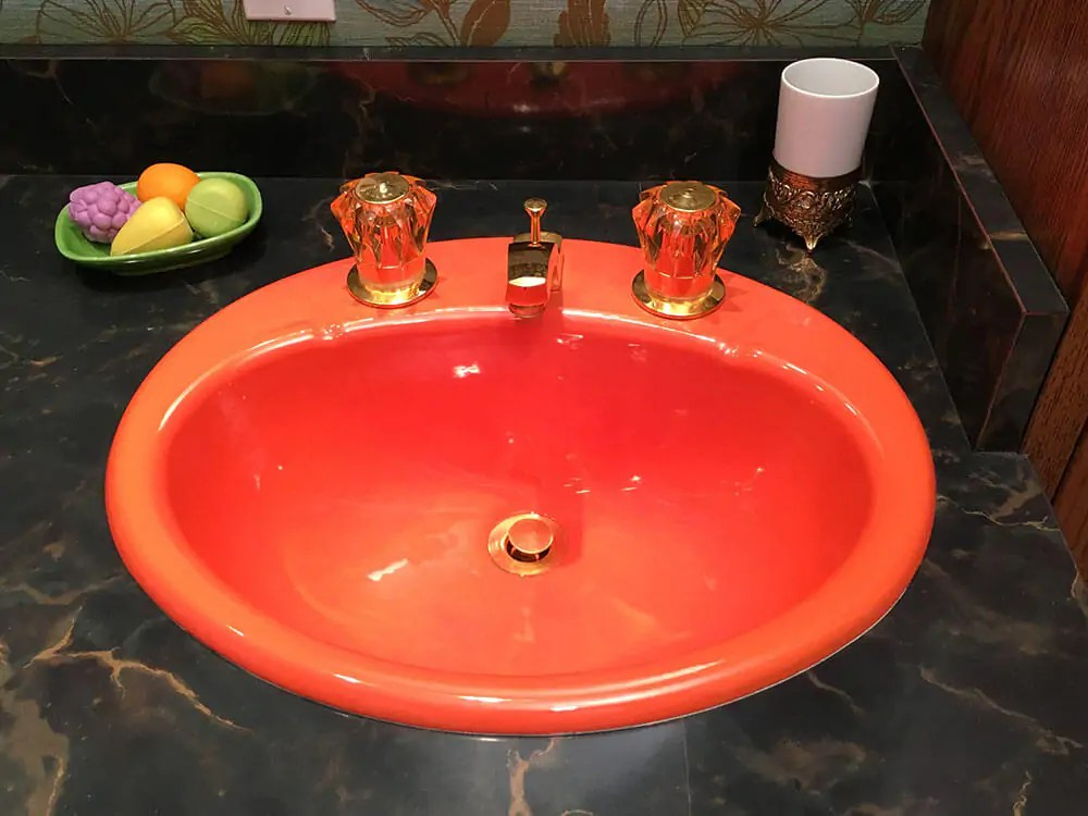 Kathys newold glam bathroom revival  featuring an