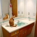 15 Midcentury Modern And Retro Style Bathroom Vanities Built New Great Ideas