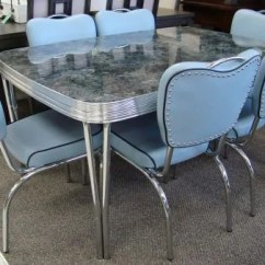 1950s Kitchen Table Ikea Still In Production After Nearly 70 Years Acme Chrome Dinettes Made Dinette