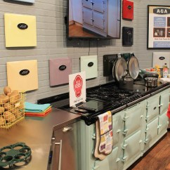 Retro Kitchen Stoves Building Islands Aga Colorful Ranges And A At Kbis - ...
