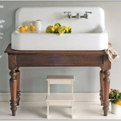 Kitchen Sinks With Drainboards Aid Grill Farmhouse Drainboard - Retro Renovation