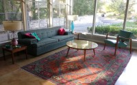 Oriental rugs in midcentury living rooms: Me likey - Retro ...