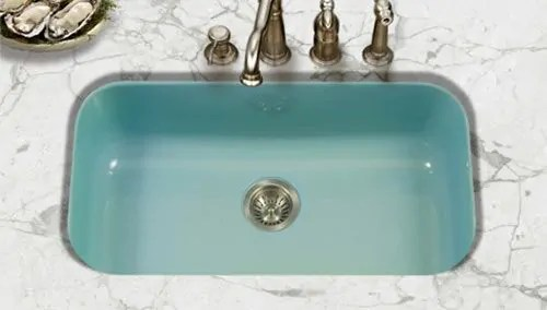 Porcelain Enamel Kitchen Sinks In 3 Styles 8 Colors