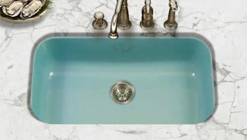 porcelain enamel kitchen sinks in 3