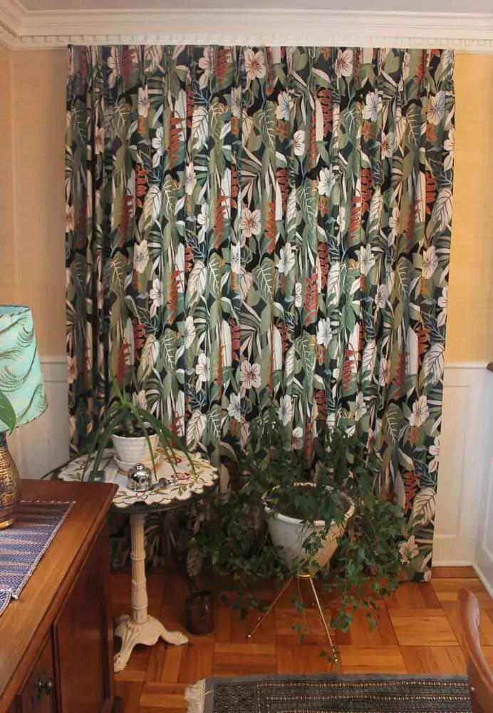 Tiki style fabric from Tommy Bahama  Retro Renovation