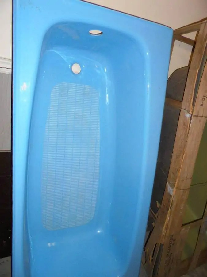 New old stock Kohler bathtubs from the 1970s  Pink
