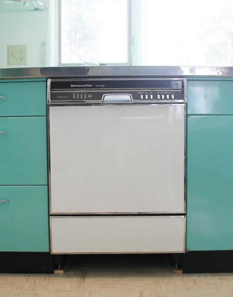 kitchen aide dishwasher mobile cart my vintage kds 21 kitchenaid 3 steps forward 2 back