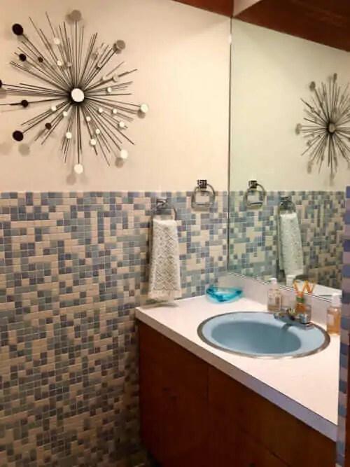 Mosaic Bathroom Tiles 3 Unique Designs In Kim S 1962