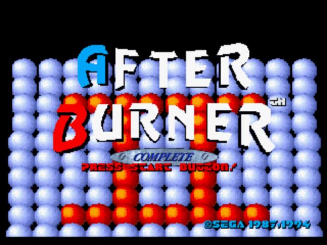 After Burner Complete – Sega Megadrive / Genesis 32X Review