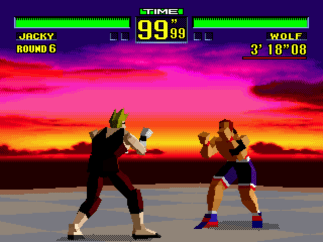 Virtua Fighter – Sega Megadrive / Genesis 32X Review