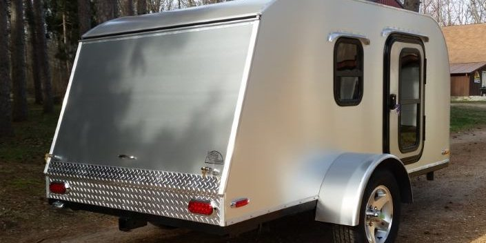 5x10 Teardrop Camper Trailers  Retro Ride Teardrops