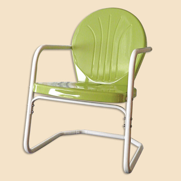 Retro Lawn Chairs  1950s Metal Chairs