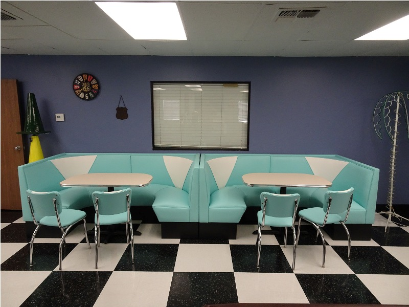 retro tables and chairs big agnes chair seating 1950s furniture diner vintage stools booths
