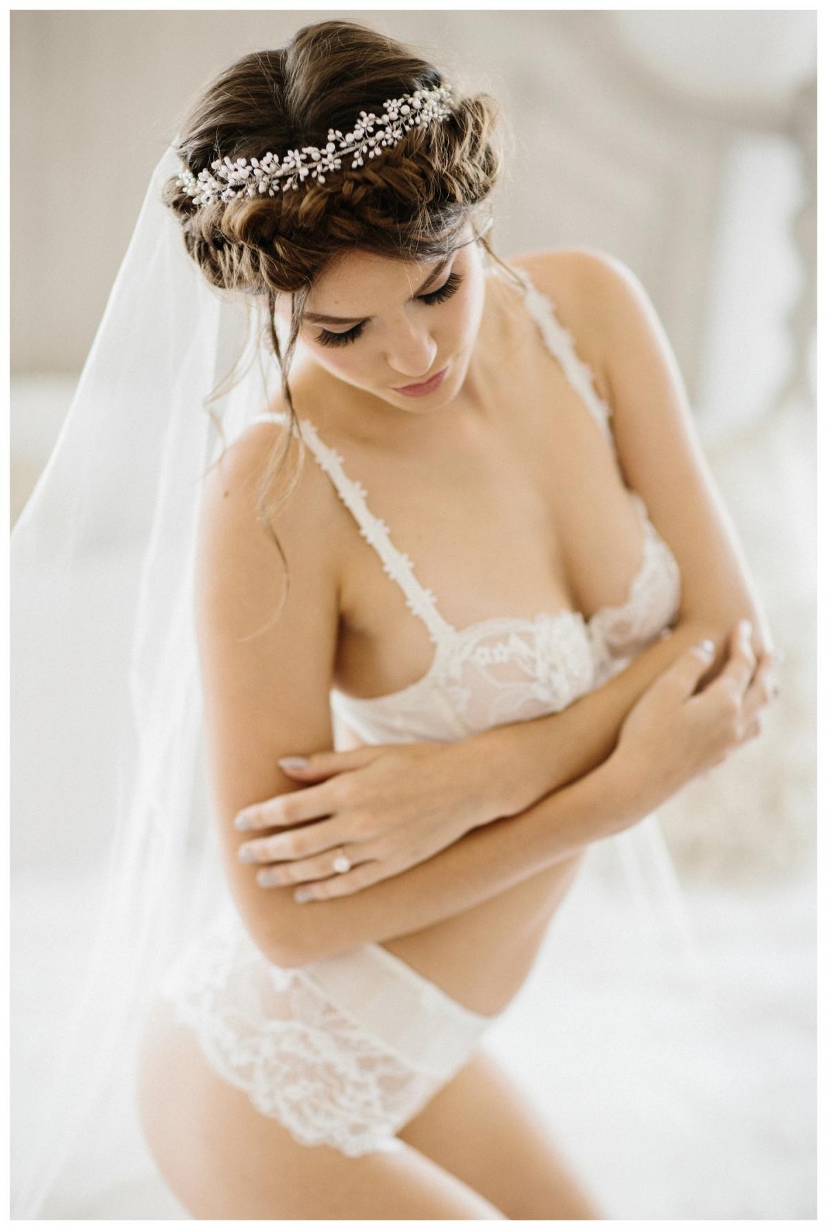 Bridal Boudoir Session Leslie Part I  San Jose Boudoir Photography  Retrospect Images
