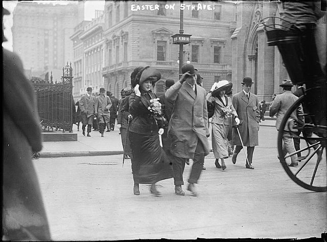 The Easter Parade on Fifth Avenue