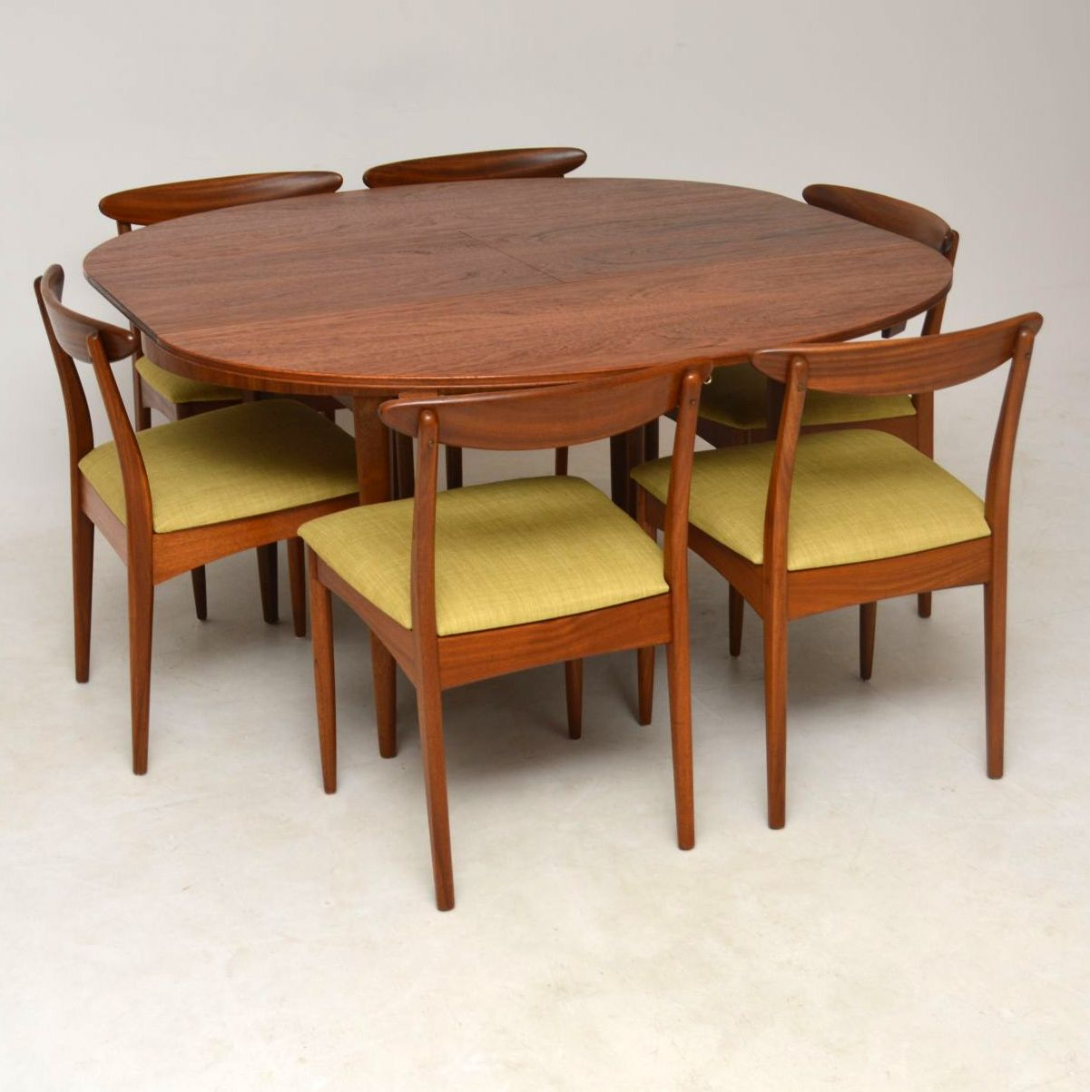 Teak Dining Room Chairs 1960 S Teak Dining Table And 6 Chairs By Greaves Thomas