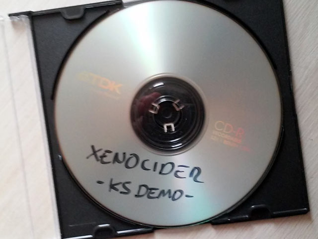 Xenocider Kickstarter demo disc