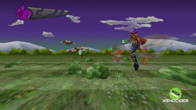 Xenocider Space Harrier homage demo