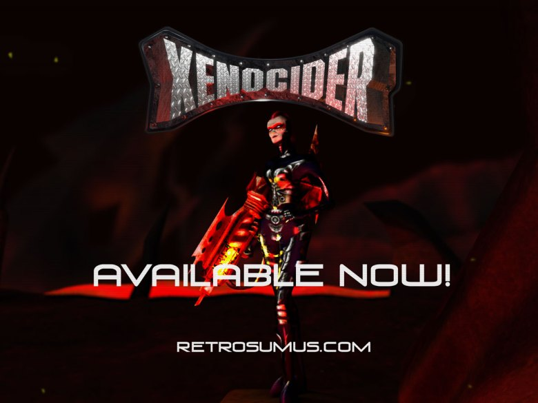 Xenocider Dreamcast available now