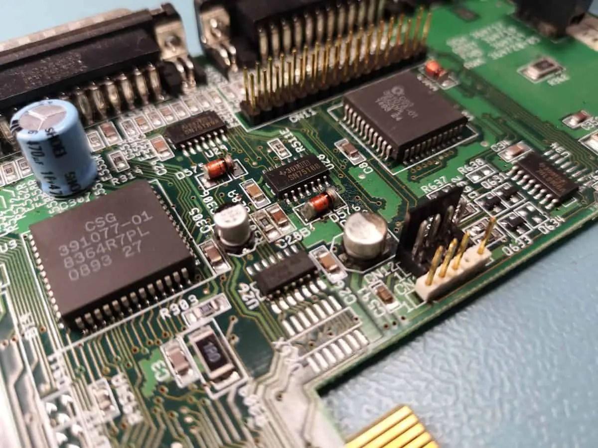 Amiga 1200 Motherboard Revisions