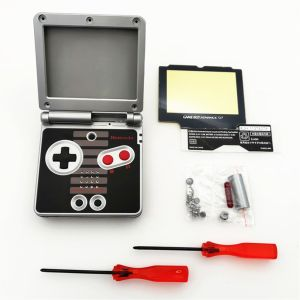 Kit Carcasa Nintendo SP: Edición Classic NES