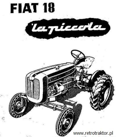 "Fiat 18 ""La Piccola"" | RetroTRAKTOR.pl"