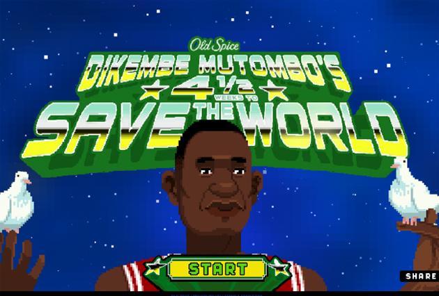 Dikembe Mutombo's 4 1/2 Weeks To Save The World