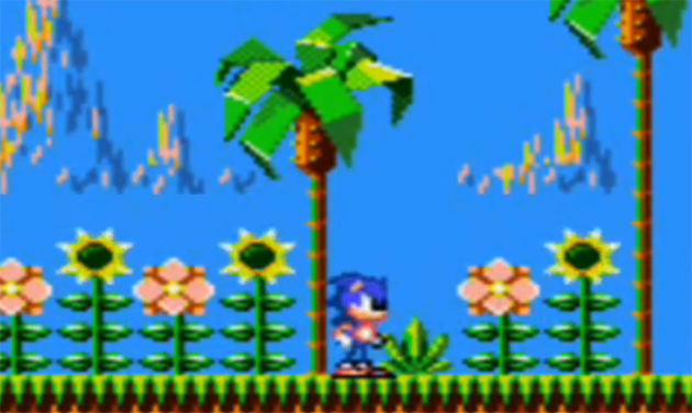 Sonic Game Gear