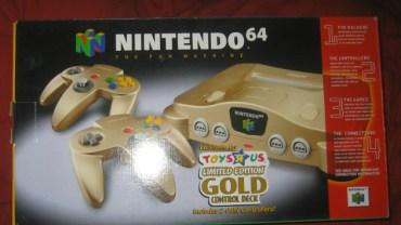 gold n64
