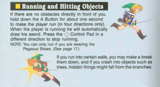 link to the past instruction manual