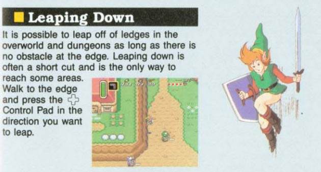 link to the past manual