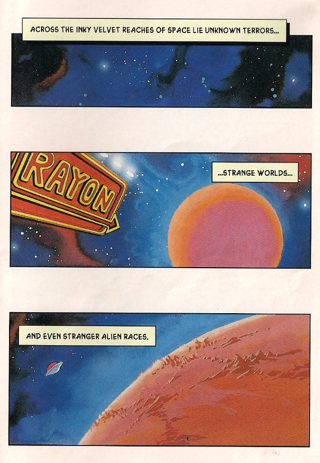 Bubsy Comic Book Page 1