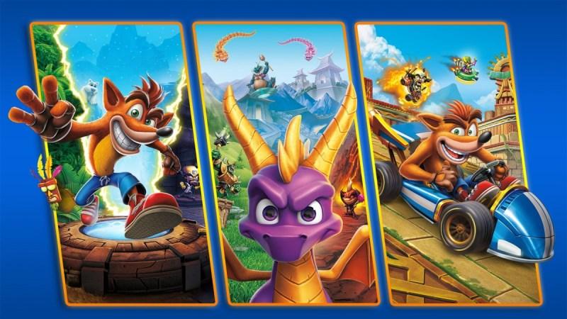 Crash + Spyro Triple Play Bundle