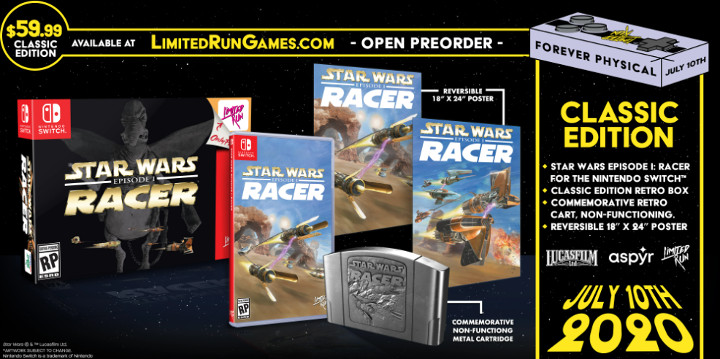 Star Wars Episode I: Racer Classic Edition