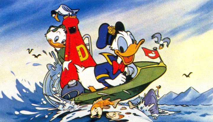 Whatever Happened to Donald Duck's Speedboat for Atari 2600?