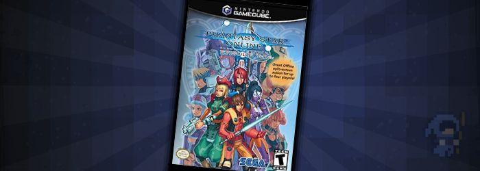 Phantasy Star - Rare GameCube Games MMO