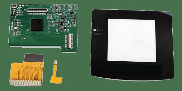 GBC Mod Kit Components
