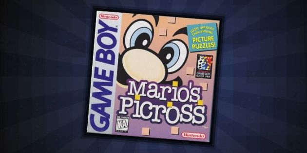 Mario's Picross — #1 Best Game Boy Puzzle Game