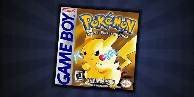 Pokemon Yellow – one of the best Pokemon GBC games