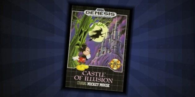 Castle of Illusion Sega Genesis