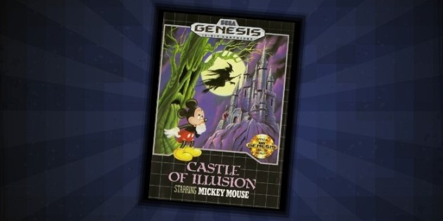 Castle of Illusion Sega Genesis