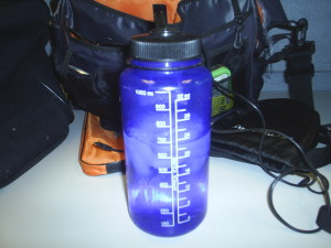 My Nalgene bottle