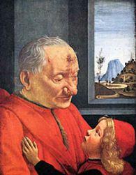 Großvater und Enkel, Domenico Ghirlandaio, 1488