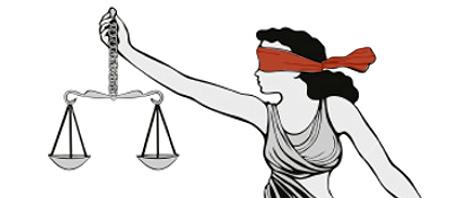 Justitia ist blind - wir auch?