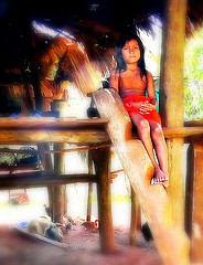 Embera Ureinwohner