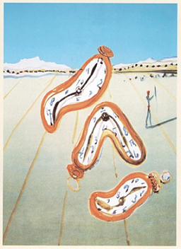 Zeit, Salvador Dali
